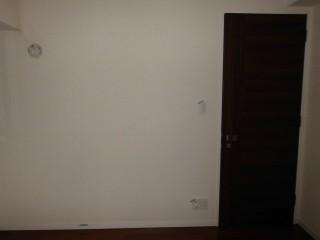 洋室前 既存入口開き戸